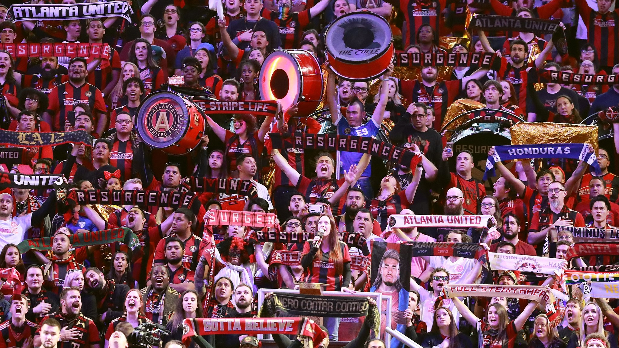 Rowdy, proud Atlanta United fans as entertaining as the game itself