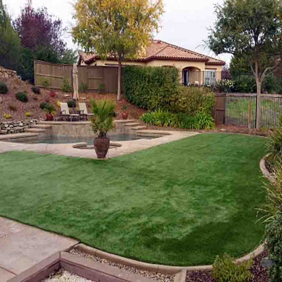 Artificial Grass Installation in Rancho San Diego, California