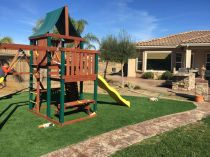 Artificial Grass Installation in North Miami, Florida