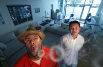 This is what a cannabis executives party pad looks like