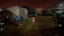 Butte County Evacuees Forced to Evacuate Walmart Parking Lot