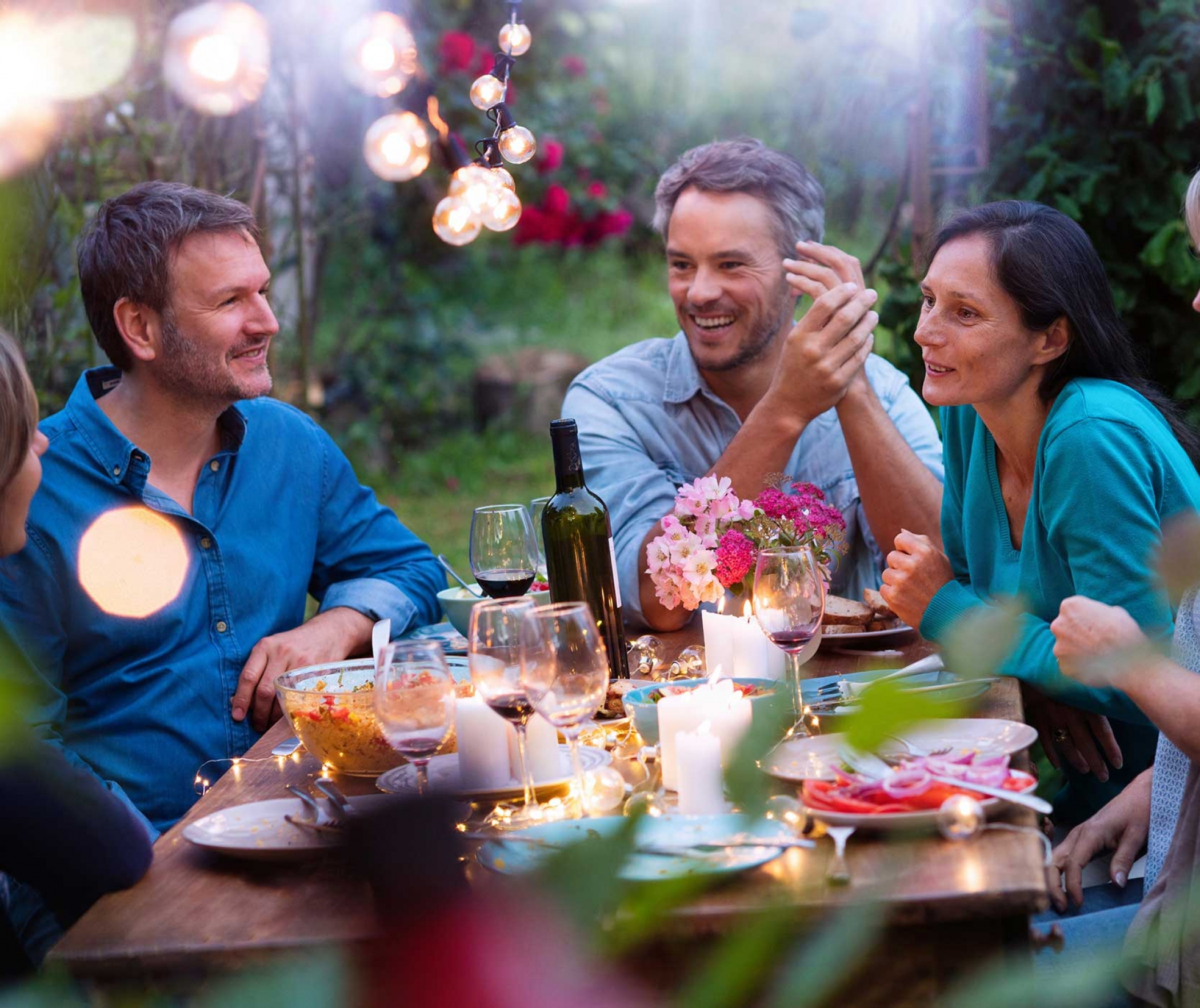 Planning an outdoor party with friends and family