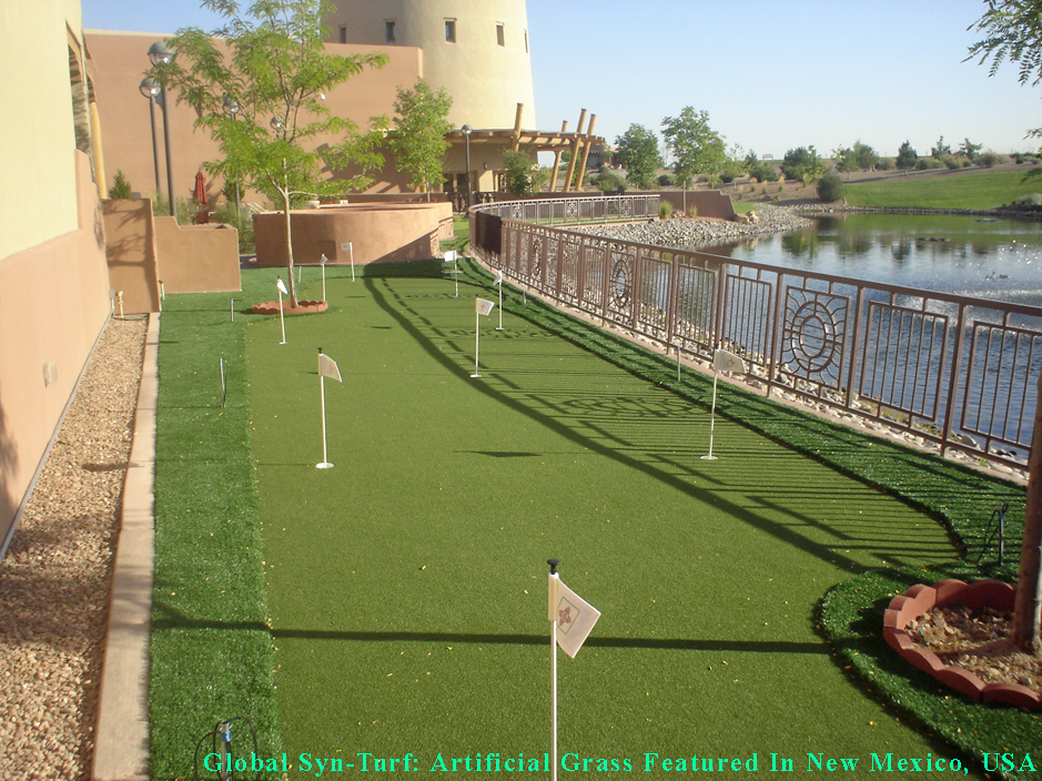 Residential Landscaping Albuquerque : Albuquerque new mexico putting greens synthetic grass