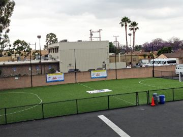 Artificial Grass Photos: Artificial Grass Installation in Compton, California