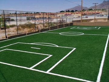 Artificial Grass Photos: Artificial Grass Installation In El Paso, Texas