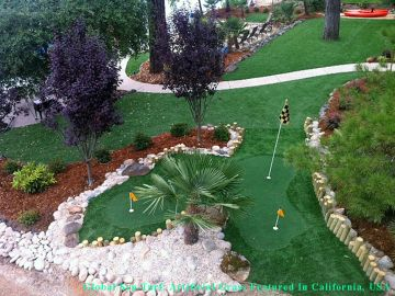 Artificial Grass Photos: Artificial Grass Installation in Santa Cruz, California