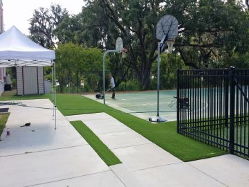 Artificial Grass Photos: Artificial Grass Installation in Charlotte, North Carolina