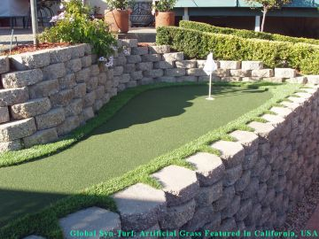 Artificial Grass Photos: Artificial Grass Installation in Gilroy, California