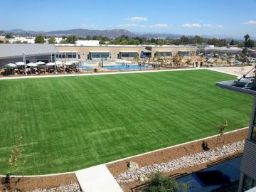 Artificial Grass Photos: Artificial Grass Installation in Solana Beach, California