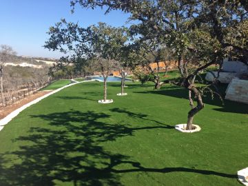 Artificial Grass Photos: Artificial Grass Installation in Bellaire, Texas
