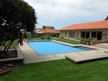 Artificial Grass Photos: Artificial Grass Installation in Modesto, California