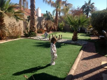 Artificial Grass Photos: Artificial Grass Installation in Goodyear, Arizona