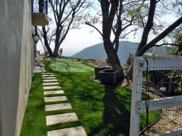 Artificial Grass Photos: Artificial Grass Installation In Palos Verdes Peninsula, California