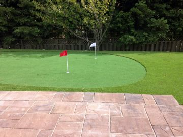Artificial Grass Photos: Artificial Grass Installation In Clayton, California