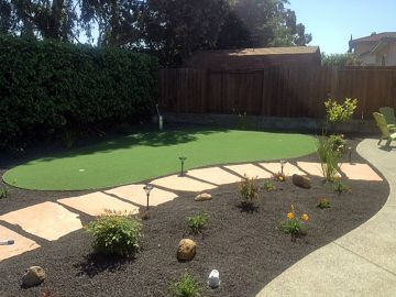 Artificial Grass Photos: Artificial Grass Installation in Discovery Bay, California