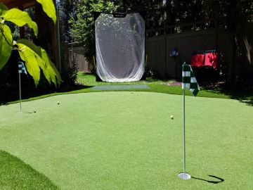 Artificial Grass Photos: Artificial Grass Installation In Fair Oaks, California
