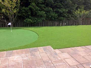 Artificial Grass Photos: Artificial Grass Installation in Hollister, California