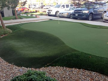 Artificial Grass Photos: Artificial Grass Installation In Laguna Beach, California
