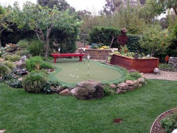 Artificial Grass Photos: Artificial Grass Installation In Larkspur, California