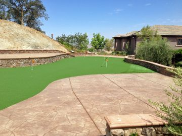 Artificial Grass Photos: Artificial Grass Installation In Newport Coast, California