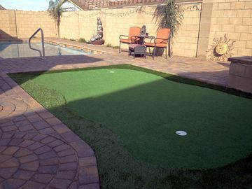 Artificial Grass Photos: Artificial Grass Installation in Page, Arizona
