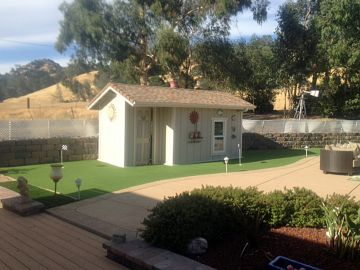Artificial Grass Photos: Artificial Grass Installation In Sonoma, California