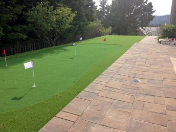 Artificial Grass Photos: Artificial Grass Installation in Winter Gardens, California