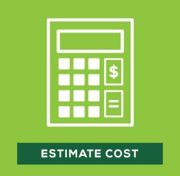 Calculate cost of materials needed for artificial grass installation