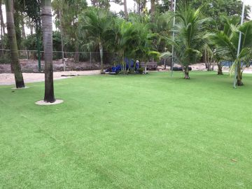 Commercial Landscape Design Ideas with Artificial Grass