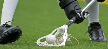 Synthetic grass for lacrosse fields