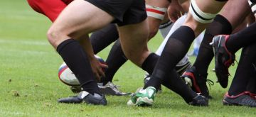 Artificial grass for rugby fields
