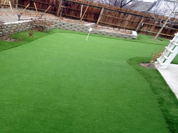 Artificial Grass Photos: Synthetic Grass Installation In Gresham, Oregon