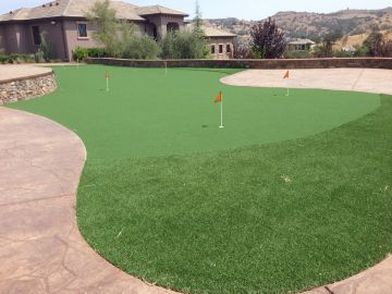 Artificial Grass Photos: Synthetic Grass Installation In Moreno Valley, California
