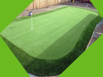 Artificial Grass Photos: Synthetic Grass Installation In Santa Clarita, California