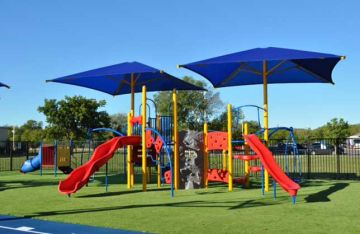 Playgrounds safe surface artificial grass synthetic turf products