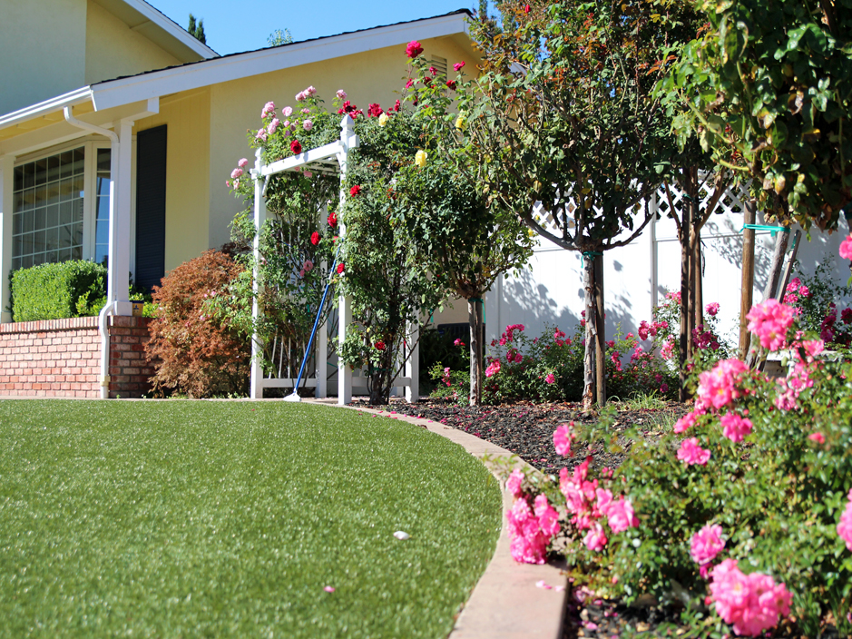 Artificial lawn grass redding california shasta county for Garden design ideas nsw