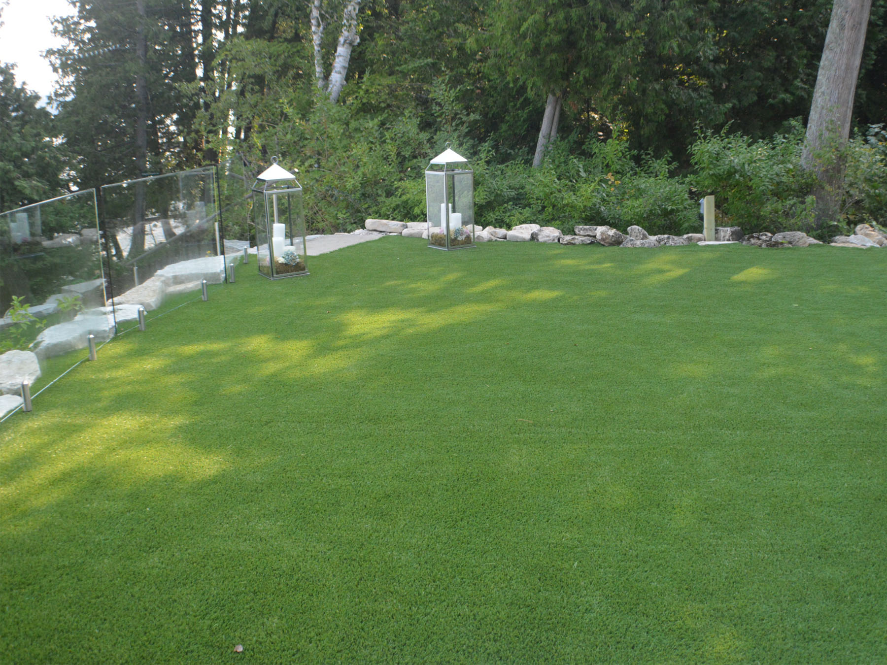 Synthetic Lawn, Artificial Grass Sister Bay, Wisconsin