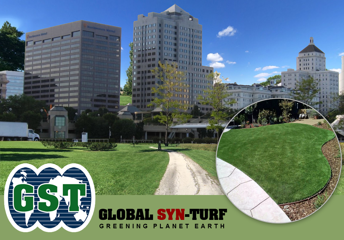 Artificial grass, synthetic turf in Milwaukee, Wisconsin