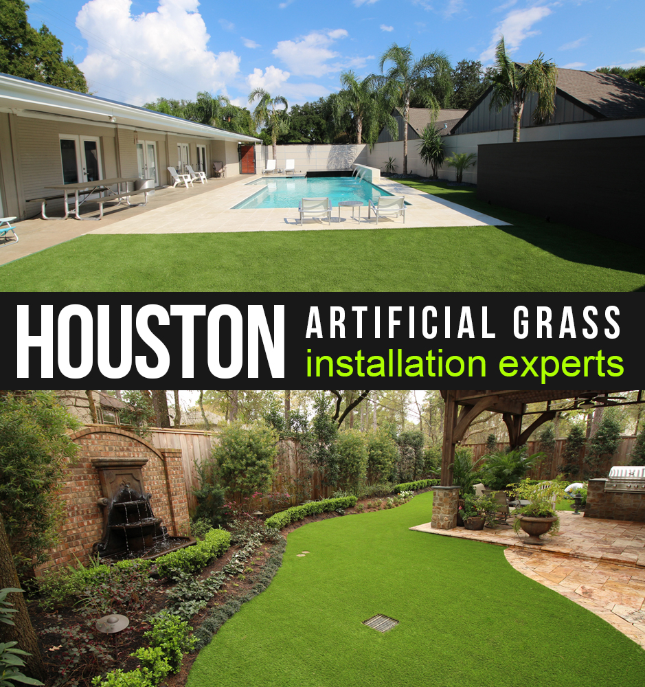Artificial grass, synthetic turf in Houston, Texas