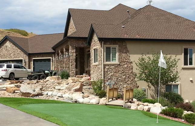 Artificial Grass Commercial and Residential Landscape
