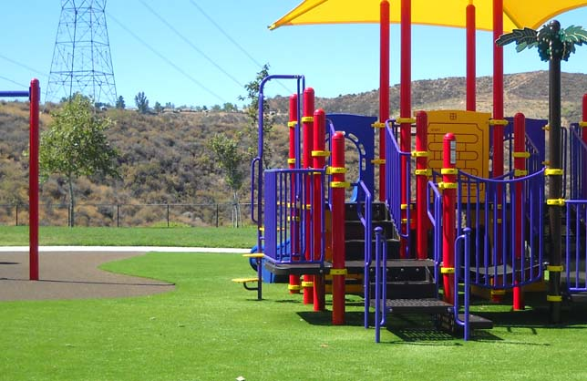 Artificial Grass for Playgrounds and Sports