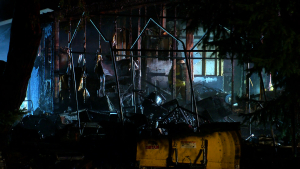 1 Hospitalized After Overnight House Fire In Western Wisconsin
