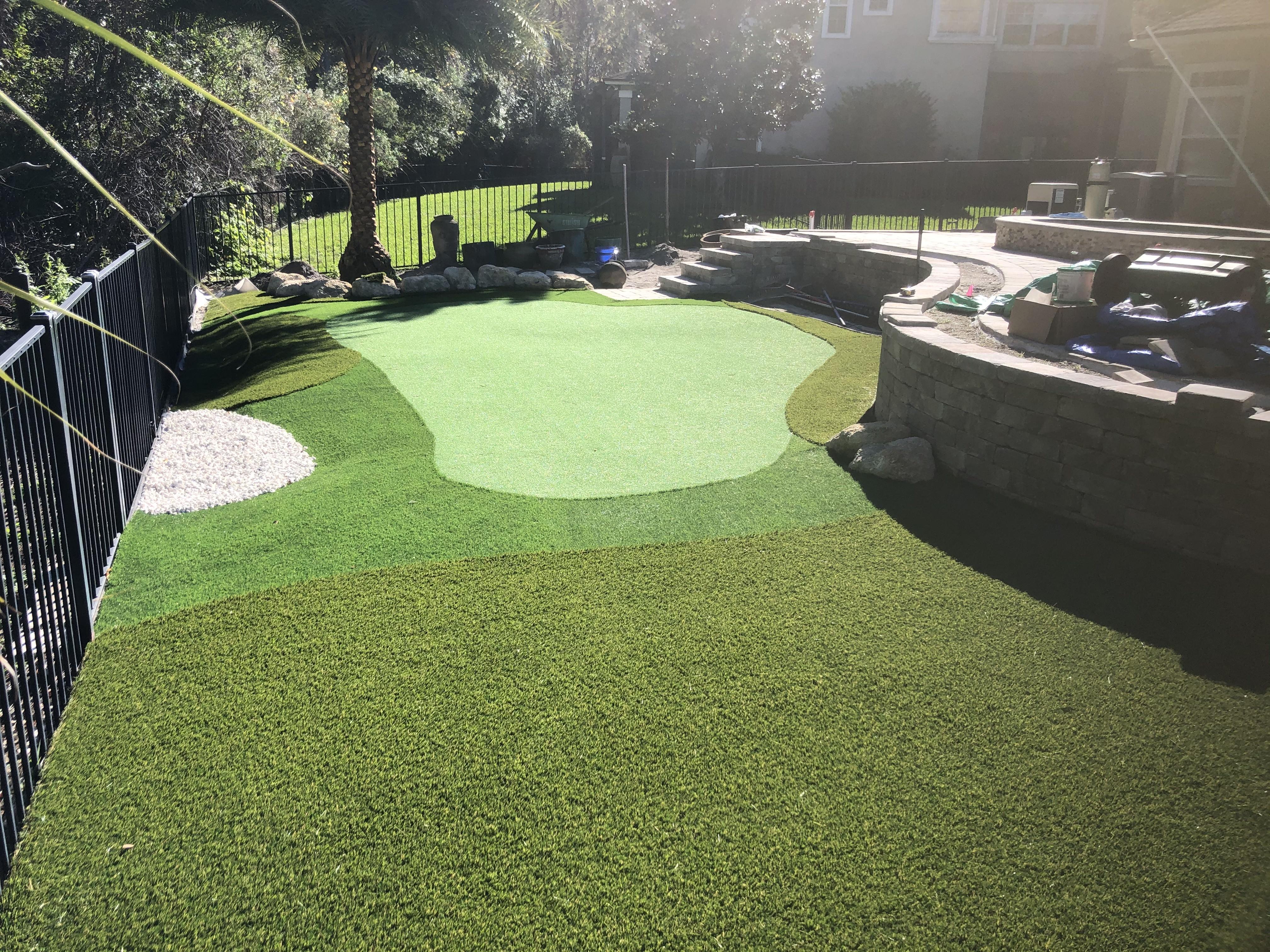Putt-46 BiColor fake green grass,green grass carpet,fake grass for yard,backyard turf,turf backyard,turf yard,fake grass for backyard