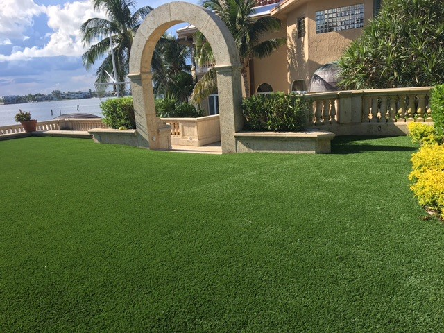 """This synthetic grass is """"real""""! All Natural-75 Review."""