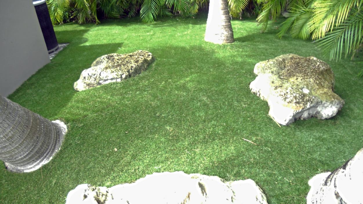 Artificial Grass Installation In Boca Raton, Florida