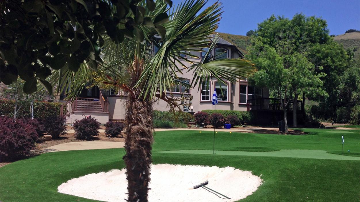 Artificial Grass Installation in Morgan Hill, California