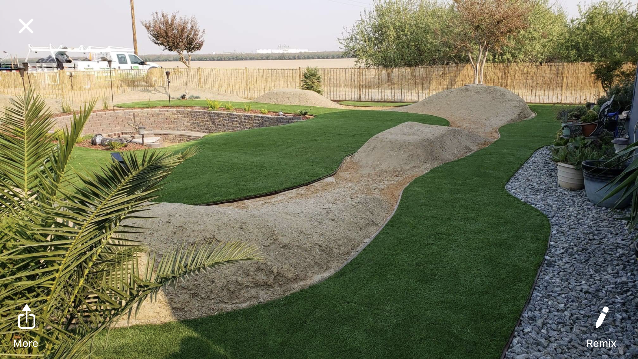 Double S-72 most realistic artificial grass