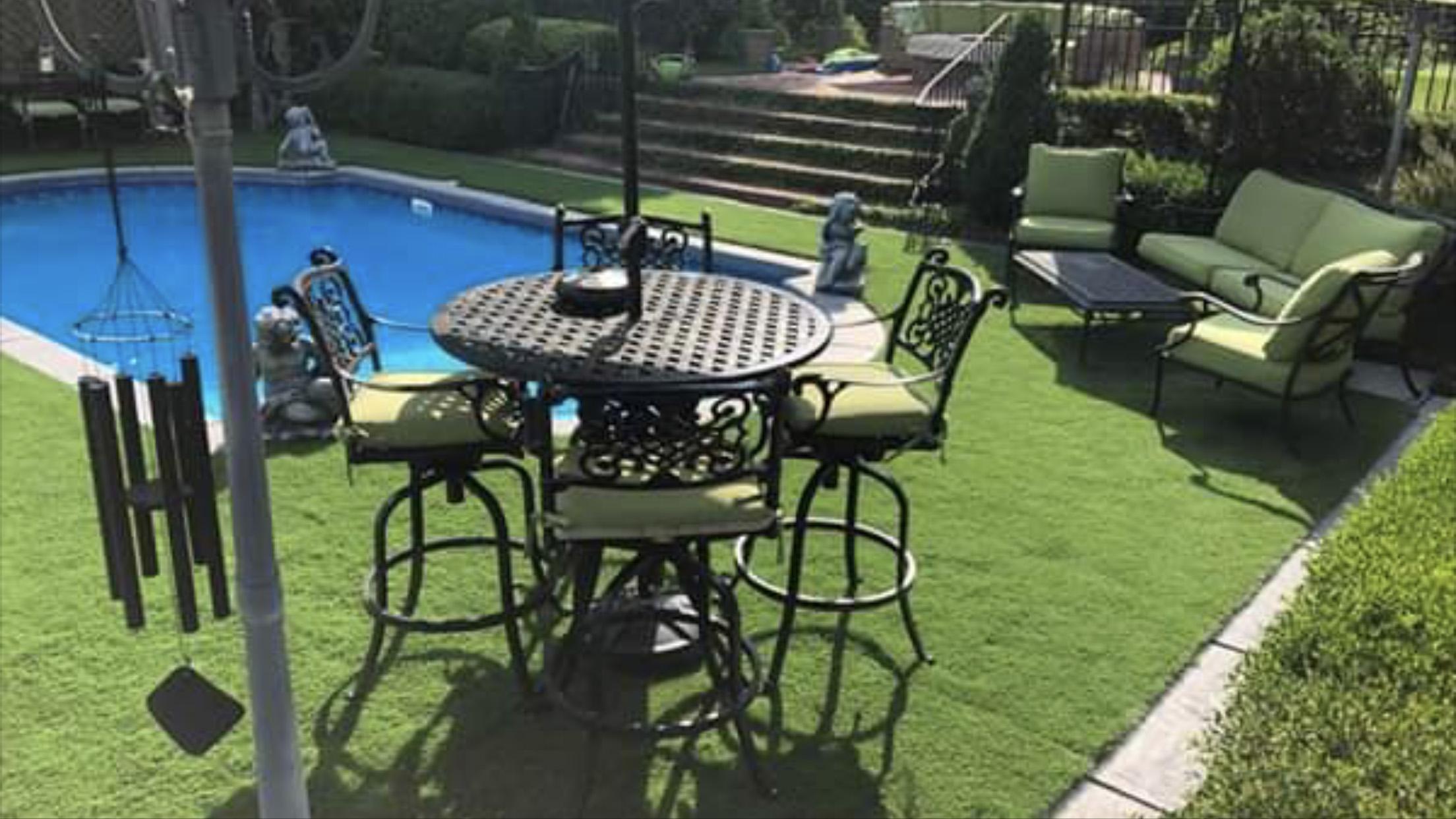 Carolinas Backyard Swimming Pool. Heavy traffic or furniture? Not a problem!