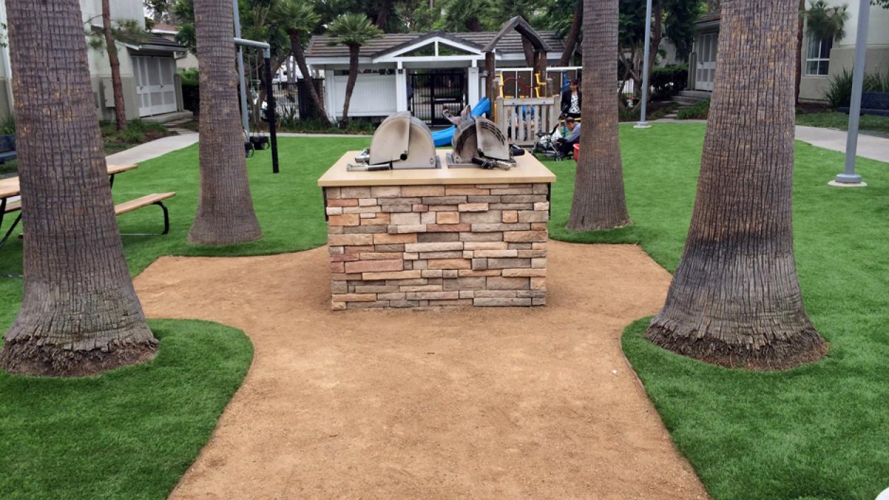 Artificial Grass Installation In Los Angeles, California