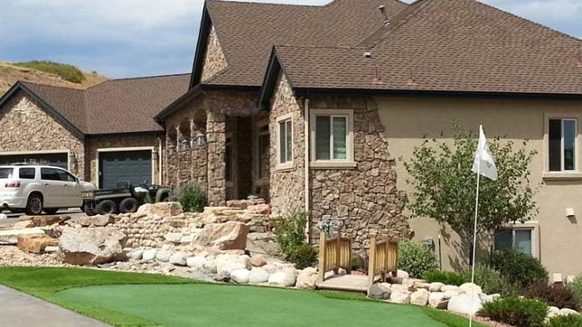 """Improve """"Curb Appeal"""" with Sythetic Grass"""